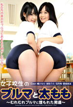 Female Schoolgirl's Bloomers and Thighs