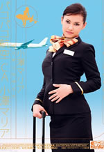 Asian Sex Flight Attendant